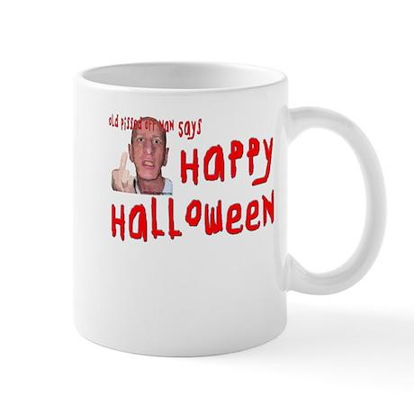 Pissed Off Halloween Mug