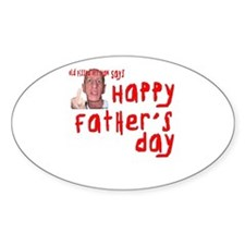 Pissed Off Father's Day Decal