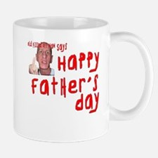 Pissed Off Father's Day Small Small Mug