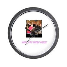 Unique Beautiful, gorgeous, wish you were here Wall Clock