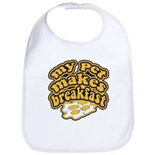 My Pet Makes Breakfast Bib