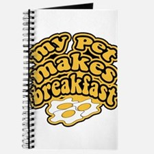 My Pet Makes Breakfast Journal