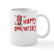 Pissed Off Anniversary Small Small Mug