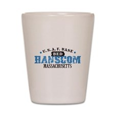 Hanscom Air Force Base Shot Glass