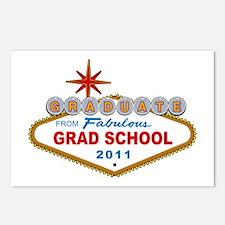 Graduate From Fabulous Grad School (Vegas Sign) Po
