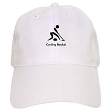 Curling Rocks! Baseball Cap