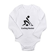 Curling Rocks! Long Sleeve Infant Bodysuit