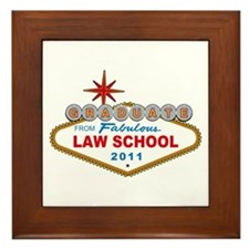 Graduate From Fabulous Law School (Vegas Sign) Fra