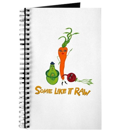 Some Like It Raw by Amy Reich Journal