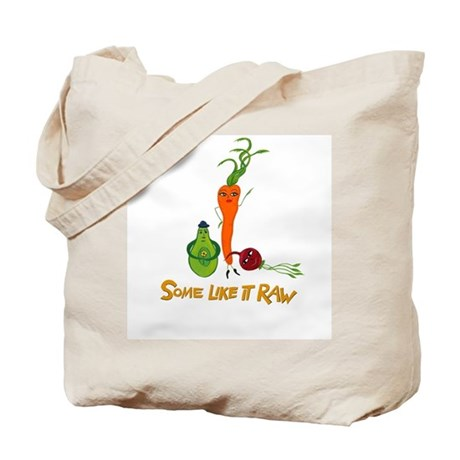 Some Like It Raw by Amy Reich Tote Bag