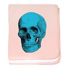 Human Anatomy Skull baby blanket