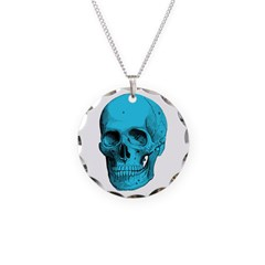 Human Anatomy Skull Necklace