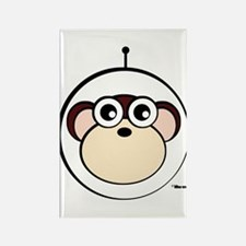 Space Monkey Rectangle Magnet