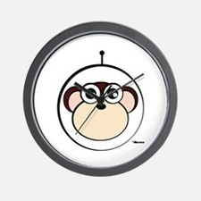 Space Monkey Wall Clock