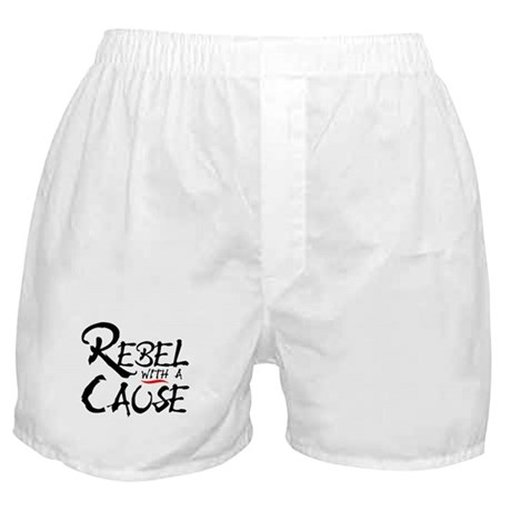 REBEL WITH A CAUSE Boxer Shorts