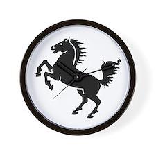 Wild Stallion! Wall Clock