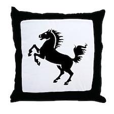 Wild Stallion! Throw Pillow