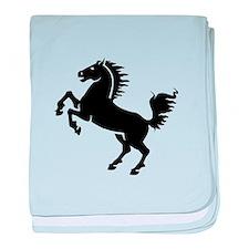Wild Stallion! baby blanket