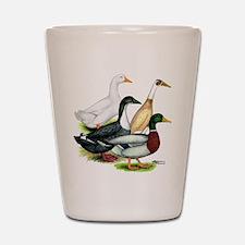 Duck Quartet Shot Glass