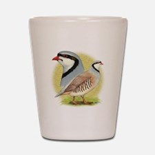 Partridge Chukar Shot Glass