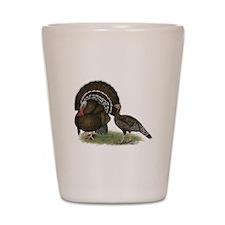 Turkey Standard Bronze Shot Glass