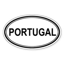 Portugal Euro Oval Decal
