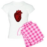 Anatomical Human Heart Women's Light Pajamas