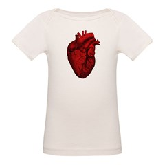 Anatomical Human Heart Tee