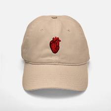 Vintage Anatomical Human Heart Baseball Baseball Cap
