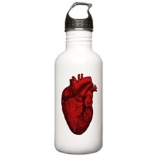 Anatomical Human Heart Water Bottle