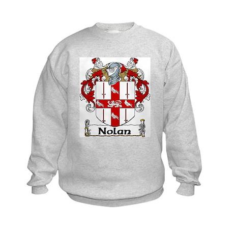 Nolan Coat of Arms Kids Sweatshirt