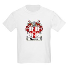 Nolan Coat of Arms Kids T-Shirt