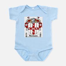 Nolan Coat of Arms Infant Creeper