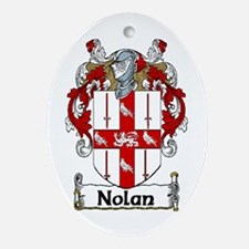 Nolan Coat of Arms Oval Ornament