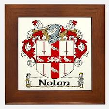 Nolan Coat of Arms Framed Tile