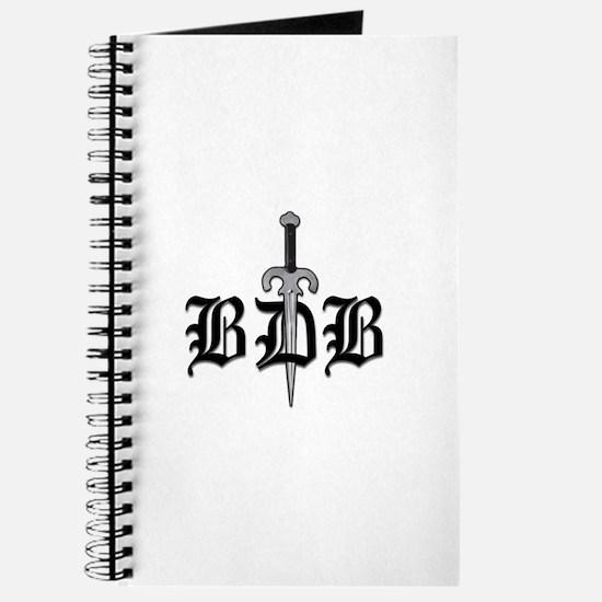 Bdb Dagger Logo Spiral Bound Journal