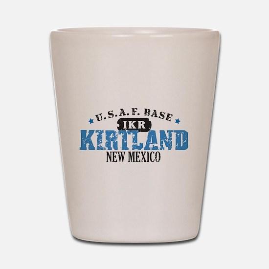 Kirtland Air Force Base Shot Glass
