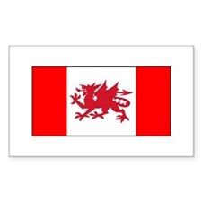 Welsh Canadian Decal