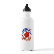 YIN & YANG FISH Water Bottle