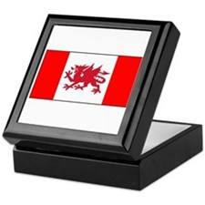 Welsh Canadian Keepsake Box