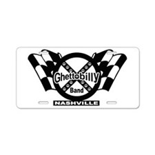 Ghettobilly Band Aluminum License Plate