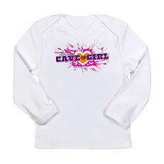 Kosher Cave Girl Long Sleeve Infant T-Shirt