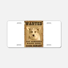 """Wanted"" Pembroke Welsh Corgi Aluminum L"