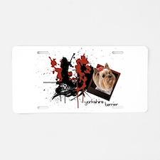 Yorkshire Terrier Aluminum License Plate