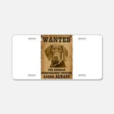 """""""Wanted"""" German Shorthaired P Aluminum L"""