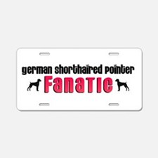 German Shorthaired Pointer Fa Aluminum License Pla