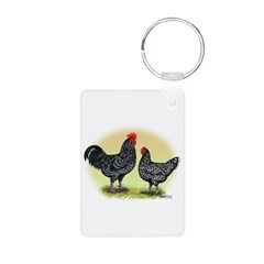 Java Chickens Keychains