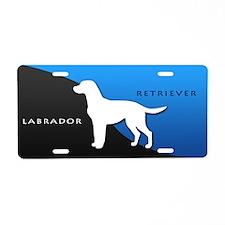 Labrador Retriever Aluminum License Plate