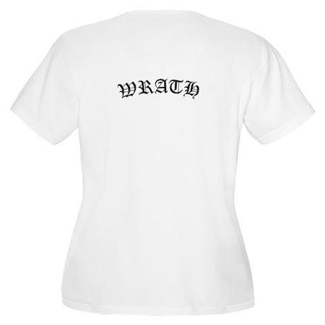 MBLM Plus Size Scoop Neck T-Shirt - Wrath