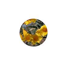Yellow Bells Mini Button